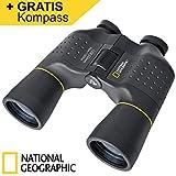 National Geographic Fernglas Bresser 10x50 präsentiert von AMAWELA | Binocular 10x50 für Natur-...