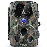 Victure Wildkamera Fotofalle 1080P Full HD 12MP 120°Weitwinkel Vision Infrarote 20m Nachtsicht...