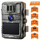 Campark Wildkamera mit bewegungsmelder nachtsicht 14MP 1080P 2.4' LCD Wasserdicht IP66 Jagdkamera...