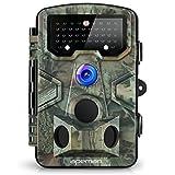 APEMAN Wildkamera Fotofalle 12MP 1080P Full HD Jagdkamera Gartenkamera 120°Breite Vision Infrarote...