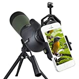 Gosky Spektiv Vogelbeobachtung 20-60 x 80 Porro Prism Spektiv - wasserdicht Sport-Spektiv für...