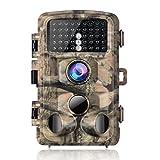 Campark Wildkamera 14MP Full HD 1080P Jagd Kamera Wasserdicht Gartenkamera 120° Weitwinkel Vision...