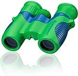Bresser junior Kinderfernglas 6x21 für Kinder mit Mitteltriebfokussierung, Dioptrienausgleich und robustem...