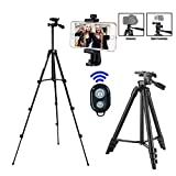Handy Stativ Smartphone Kamera Stative Einbein Ständer Lightweight Tripod für...
