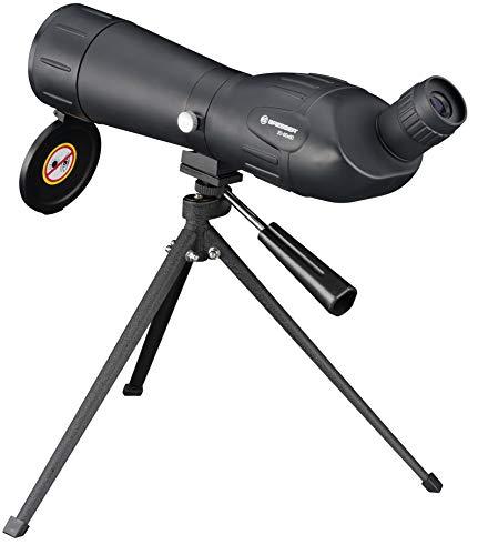 Bresser Junior Spektiv Spotty 20-60x60 mit stufenloser Zoomfunktion, 360° drehbarem Tubus, voll...