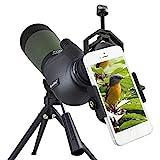 Gosky, Spektiv, 20- bis 60-fach, 80 mm, Prisma, wasserdicht, für Vogelbeobachtung / Bogenschießen...
