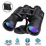MARNUR Fernglas 12x50 Ferngläser Binoculars Kompakt Wasserdicht Feldstecher für Kinder Erwachsene...