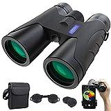 Fernglas 12x40 HD Anti-Fog Ferngläser mit Nachtsicht-Funktion | BAK4 Prismen FMC Binoculars mit Tragetasche...