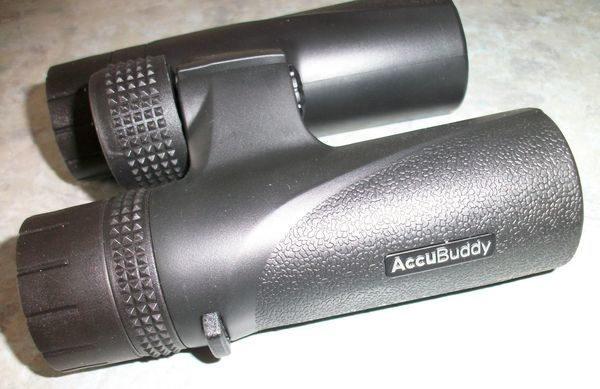 AccuBuddy Fernglas 12x28 PRO Schriftzug seitlich
