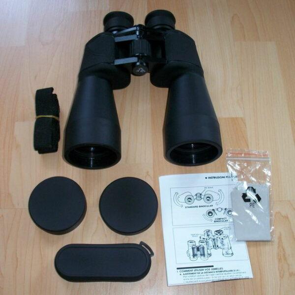 Lieferumfang des TS Optics 10 x 60 LE Fernglas