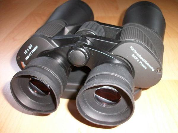 TS Optics 10 x 60 Weitwinkel Porro Fernglas LE Serie Augenmauscheln
