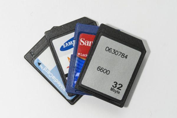 verschiedene SD-Karten