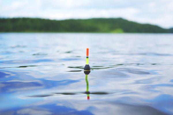 See fischen Schwimmer Pose angeln