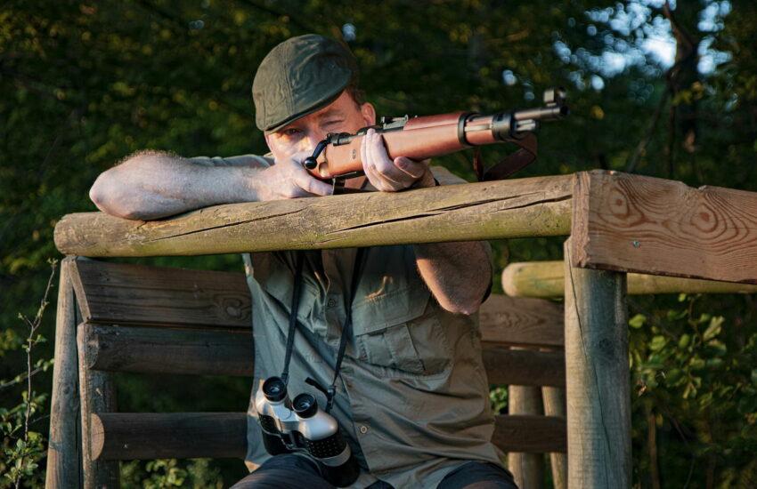 Fernglas für Jäger