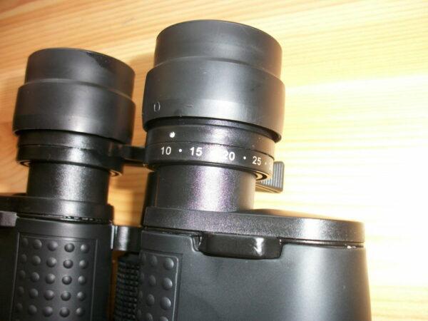 Vergrößerung einstellen am Auriol Zoom Fernglas
